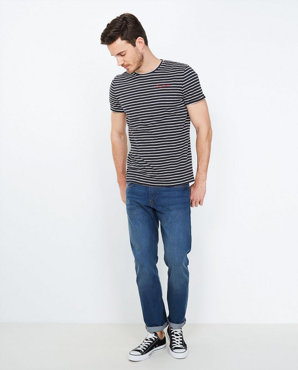 Jeans délavé - regular fit - JBC